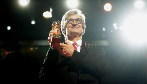 Wenders takes Golden Bear for a lifetime in film
