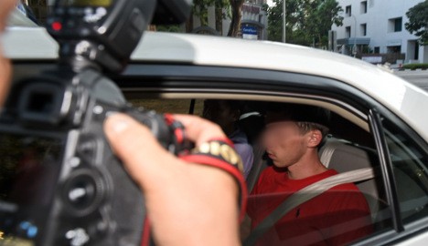 German tourists face caning in Singapore