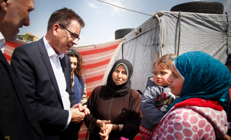 Germany pledges €107m for Syrian refugees