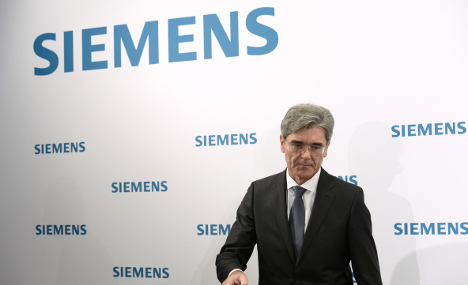 Siemens signs '4 bn euro' deal with Egypt
