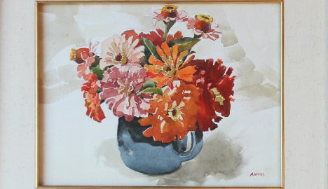 Hitler watercolour to go under hammer in US