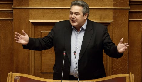 'We'll send our refugees to Berlin': Greek minister
