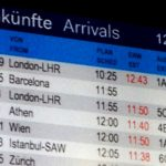 The flight, number GWI9525, took off at 10.01am from Barcelona and was due to land in Düsseldorf at 11.49am.Photo: AFP
