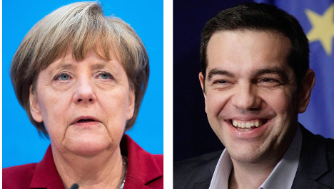 Merkel reaches out to defuse Greece tension
