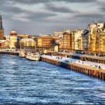 """Düsseldorf, the city on the Rhine, is home to 5 Fortune 500 companies. It was ranked as Germany's second most livable city.Photo: <a href=""""http://bitly.com/1CBtSZ7"""">Shutterstock</a>"""