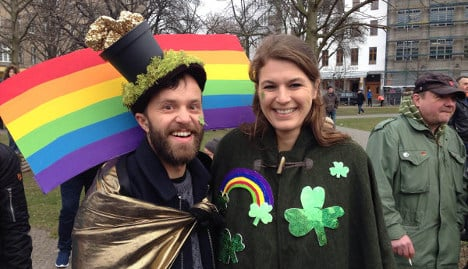 In pictures: Berlin goes green for Paddy's Day