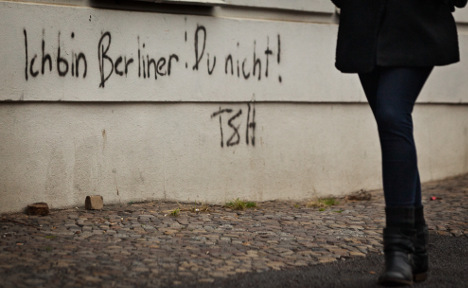 Berlin's unwanted migrants see funny side