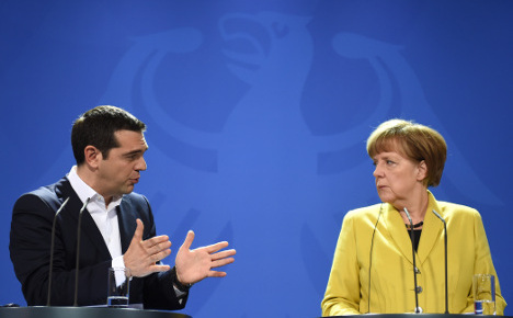 Merkel and Tsipras in new one-on-one meet