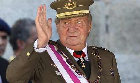Spanish king in 10-year affair with German