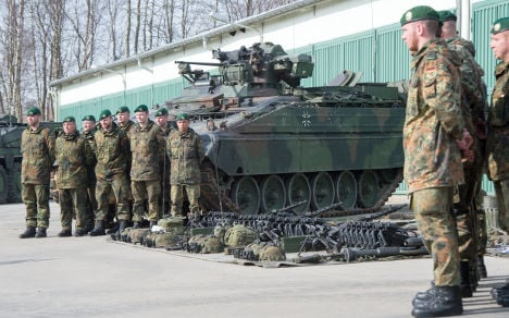 German troops quick off mark in Nato exercise