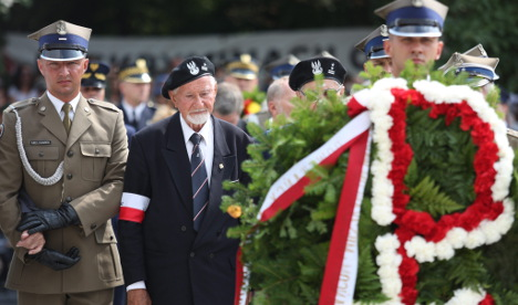 Germany honours Warsaw Uprising fighters
