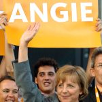 May 30th 2005 – Merkel became the CDU/CSU candidate for Chancellor for the 2005 election, which was called because of a vote of no confidence that went against Schröder earlier that month.Photo: DPA