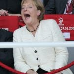 2008 – Merkel became the unofficial crisis manager of the Eurozone after the global financial crash. Her skilful handling of the economic crisis helped increase her popularity even further in Germany.Photo: DPA