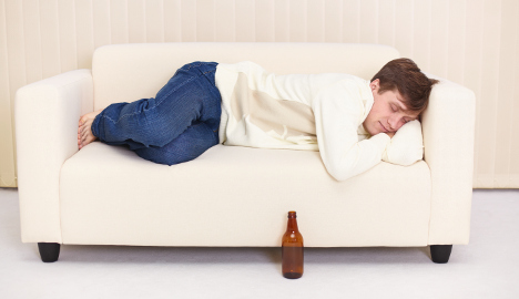 Man comes home to thief sleeping on couch