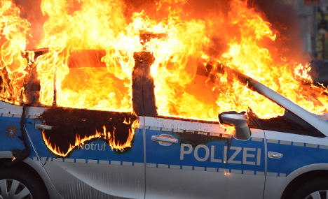 Italian faces charges over Blockupy violence
