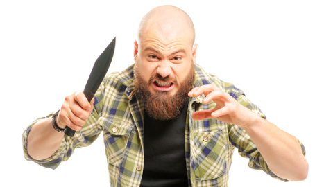 Vegetarian flips out at smell of meat on train