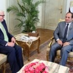 Experts: Steinmeier's Egypt visit was 'wrong'
