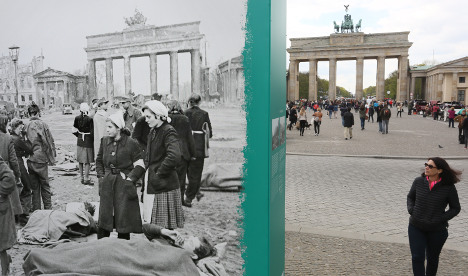 Bundestag thanks Allies for 70 years of peace