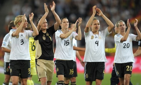 German women have World Cup in their sights