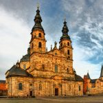 <b>Fulda, Hesse </b> - Right in the heart of Germany, Fulda offers a stunning array of architecture of different styles, especially the impressive cathedral pictured.Photo: via Daneil Mannerich: http://bit.ly/1zZFgNW