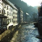 <b>Monschau, North Rhine Westphalia </b> - This small resort town in the Eifel region of western Germany is known for its half timbered buildings and narrow streets. Monschau is also the site of an annual open air music festival that attracts punters from all over Europe. Photo: via glasseyes view: http://bit.ly/1cwBikY
