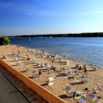"""<b>Wannsee.</b> For Berliners, a splendid summer swimming hole couldn't get much more convenient than Wannsee, which is reachable by S-Bahn to the southwest of the city centre.Photo: <a href=""""http://bit.ly/1FEM9Xm"""">t-stern</a> / Wikimedia Commons."""