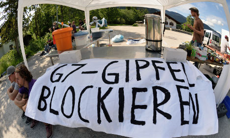 US soldiers banned from Bavaria G7 zone