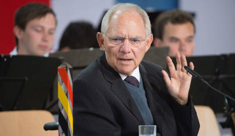 Schäuble: Greek bailout deal only a 50-50 chance