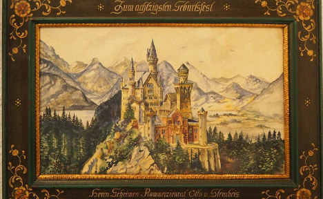Hitler watercolours to go under the hammer