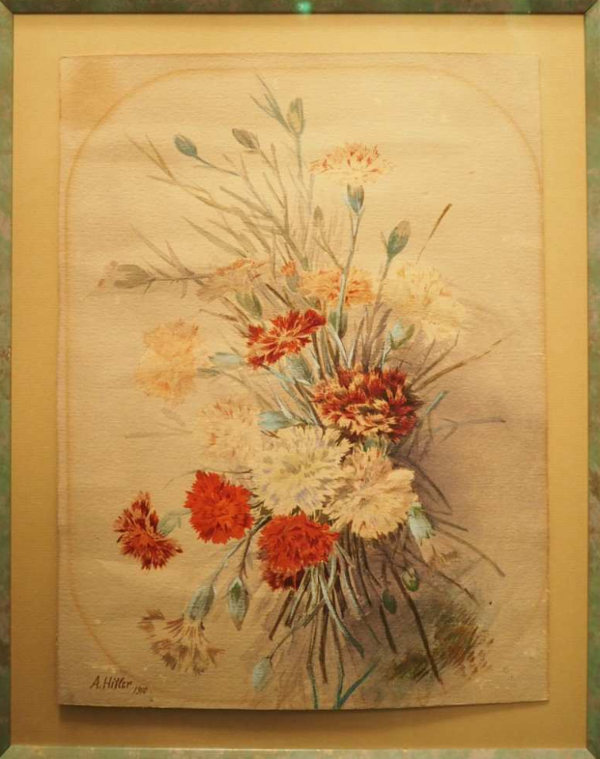 Hitler's paintings up for auction