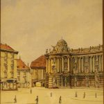 This watercolour of Old Vienna is one of the less expensive items in the auction catalogue - a snip at €1,000.Photo: Auktionshaus Weidler