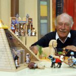 Horst Brandstätter, head of the Playmobil company died June 3rd 2015 at the age of 81, following six decades at the company. He was honoured with Germany's Federal Cross of Merit in 1993.Photo: DPA