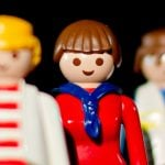 1976 marks the year the first women figurines were produced to join their male counterparts.Photo: DPA