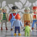 In 1987-88, Playmobil figures began to be made with even more varieties of body shapes, hands and feet. New jackets, vests and long skirts proved popular.Photo: DPA