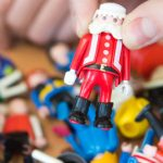 The first Father Christmas Playmobil character appeared in 1995.Photo: DPA