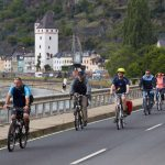 The Rhine Cycle Trail runs for 120km between Bingen and Koblenz through a UNESCO World Heritage region. There are around 40 castles and palaces overlooking the river Rhine, offering plenty to see and do.Photo: DPA