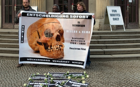 Germany speaks of 'genocide' in Namibia