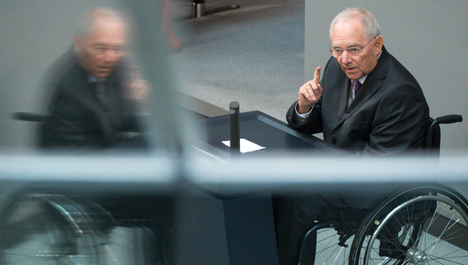 Schäuble prepared to quit over convictions