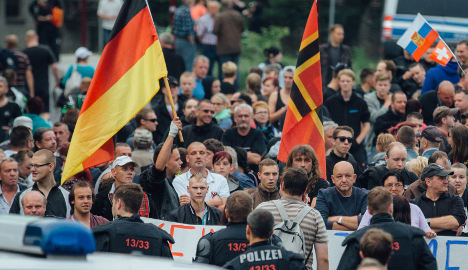 Anti-refugee rage grows in Dresden suburbs
