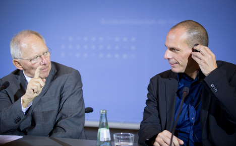 Schäuble 'planned to let Greece fall': Varoufakis