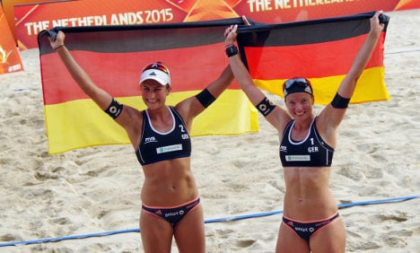Germany reach semis of beach volleyball worlds