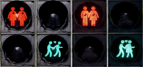 Gays get red (and green) light in Munich