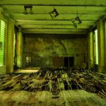 """It would be extremely inadvisable to play on this rotted-away Soviet <a href=""""http://digitalcosmonaut.com/2012/kaserne-krampnitz/abandoned-russian-basketball-court-jpg/"""">basketball court</a>.Photo: <a href=""""http://www.digitalcosmonaut.com"""">Digital Cosmonaut</a>"""