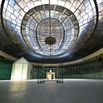 """An excursion from Berlin this time: this fabulous art-deco power plant control room in Budapest.Photo: <a href=""""http://www.digitalcosmonaut.com"""">Digital Cosmonaut</a>"""