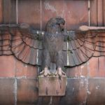 """<a href=""""http://digitalcosmonaut.com/2015/nazi-eagles-berlin/"""">Nazi eagles</a> can still be spotted here and there around Berlin, and this one in the eastern suburb of Marzahn is one of the best-preserved.Photo: <a href=""""http://www.digitalcosmonaut.com"""">Digital Cosmonaut</a>"""
