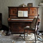 """This piano in what was once a renowned <a href=""""http://digitalcosmonaut.com/2013/abandoned-cinema-berlin-director/abandoned-piano-berlin-germany/"""">cinema director's house</a> must have seen some wild parties and creative outpourings in its day.Photo: <a href=""""http://www.digitalcosmonaut.com"""">Digital Cosmonaut</a>"""