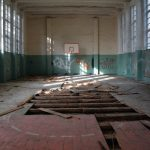 """It seems that the Soviets just loved basketball - but obviously their courts were one of the few things they didn't build to last.Photo: <a href=""""http://www.digitalcosmonaut.com"""">Digital Cosmonaut</a>"""