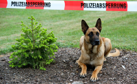 Policeman forced to shoot own service dog