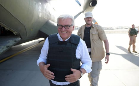Germany's friendship vow to Afghanistan