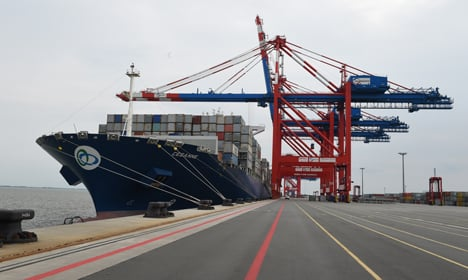 Deep-water port ready for giant ships